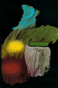 Joan Miro. Just stare at the image. Use your eyes, not your mind. Let the painting into your wordless consciousness and you will feel Magic!