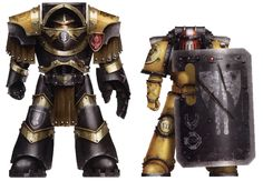 The 7th Legion of Astartes. (The Imperial Fists) by kokoda39 on DeviantArt