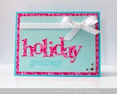 Bella Rose Cards  wonderful words, holiday
