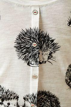 Hedgehog shirt <3