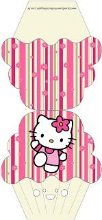 Imprimibles de Hello Kitty 20.