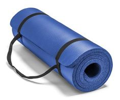 Spoga Premium Extra Thick High Density Exercise Yoga Mat with Carrying Strap, Blue - Worked exactly as it should, no complaints.This Spoga that is rank Yoga Mat Reviews, Exercise Bike Reviews, Best Gym, Best Yoga, Floor Workouts, Fun Workouts, Best Treadmill For Home, Workout Accessories, Fitness Accessories