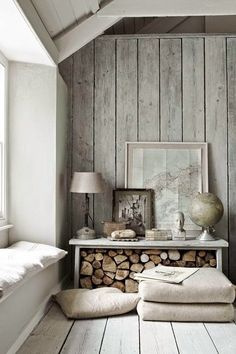 Neutral tones with textural elegance adds personality to a space. | Norse White Design Blog