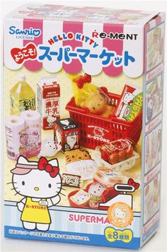 Hello Kitty Supermarket Re-Ment miniature blind box