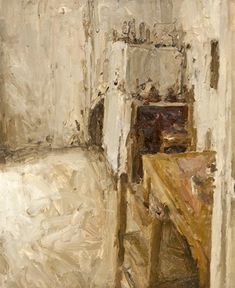 Artwork by Jordan Wolfson, Interior, Made of Oil on canvas