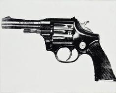 Andy Warhol, 'Gun,' 1981, Revolver Gallery