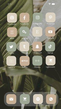 Iphone Wallpaper App, Ios App Icon, Ios Phone, Iphone Design, App Covers, Beige Aesthetic, Icon Pack, Facetime, Earth Tones