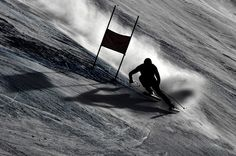 Aksel Lund Svindal (FRANCE OUT) Aksel Lund Svindal of Norway competes during the Audi FIS Alpine Ski World Cup Men's Downhill on November 30...