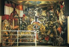 The Revolutionary, 1957 by David Alfaro Siqueiros. Social Realism. portrait. Private Collection