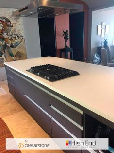 Un departamento de lujo, necesita materiales de lujo, por eso nuestros amigos de High End Equipos y Cocinas Vallarta eligieron nuestro modelo 1141 Pure White, para esta increíble cocina en AVALON Condominios Boutique Homes, Pure White, Pure Products, Condos, Kitchens, Amigos