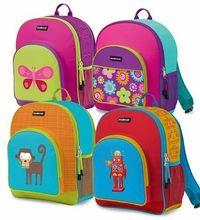 Kids Backpack (BPA FREE), by Crocodile Creek  http://www.happygreenbaby.com/crododile-creek-kids-backpack.html  #happygreenbaby.com #backtoschool