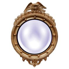 Hickory Manor House Regency Eagle Wall Mirror - 22W x 31H in. - 6317