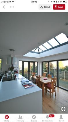 Roof Lantern Extension Ideas – When we are talking about the exterior of the house, we should also talk about the roof of the house. there are several things before creating a house, and one of the… . Bungalow Extensions, House Extensions, Kitchen Extensions, Style At Home, Orangerie Extension, Orangery Extension Kitchen, Kitchen Extension Skylights, Kitchen Extension Bungalow, Kitchen Extension Roof Lantern