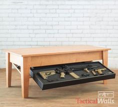 Tactical Walls Concealment Coffee Table