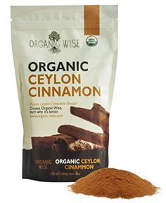 Organic Wise Ceylon Cinnamon Ground Powder, 1 lb-From a USDA Certified Organic Farm in Sri Lanka and Packed In The USA - http://spicegrinder.biz/organic-wise-ceylon-cinnamon-ground-powder-1-lb-from-a-usda-certified-organic-farm-in-sri-lanka-and-packed-in-the-usa/