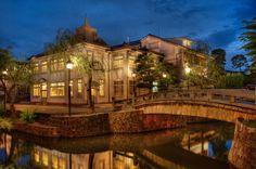 Kurashiki city, Okayama prefecture. Historical Bikan Area  岡山・倉敷