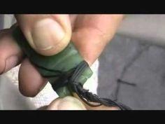 ▶ How to bind a jade toki - YouTube