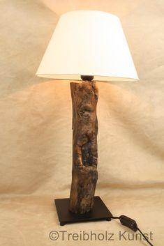 Designer Lampe Treibholz
