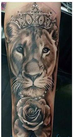 Tattoo Couple Skull Tat 52 Ideas For 2019 Dope Tattoos, Mommy Tattoos, Bild Tattoos, Trendy Tattoos, Leg Tattoos, Body Art Tattoos, Tatoos, Knee Tattoo, Lion Tattoo Sleeves