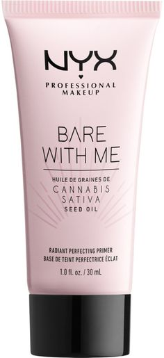 NYX Professional Makeup Bare With Me Cannabis Sativa Seed Oil Radiant Perfecting Primer NYX Professional Makeup Bare With Me Hanf Sativa Samenöl Radiant Perfecting Primer [. Mac Eyeshadow Dupes, Nyx Dupes, Nyx Cosmetics, Make Up Primer, Face Primer, Cannabis, Nyx Makeup, Makeup Tips, Make Up