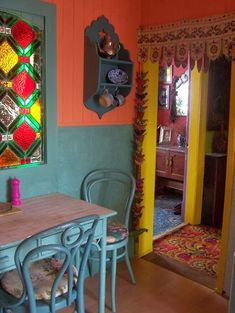Bright & bold bohemian colors. Romany Soup: Home Sweet Home