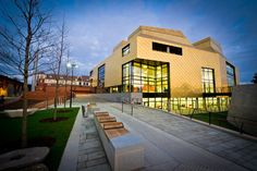 The Hive - University of Worcester - where we did our family ancestry research - just opened in July 2012