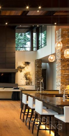 Breathtaking contemporary mountain home in Steamboat Springs ... on