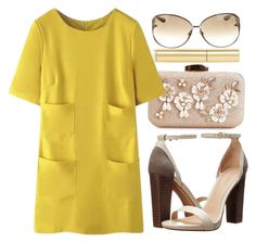 """""""."""" by fashionista-sweets ❤ liked on Polyvore featuring Tom Ford, AERIN, WithChic and Pour La Victoire"""