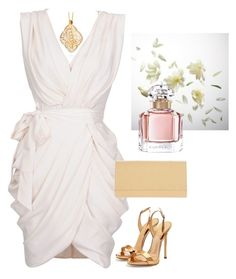 """""""Untitled #528"""" by stephanie-visconti ❤ liked on Polyvore featuring Guerlain, Giuseppe Zanotti, Louis Vuitton and MonGuerlain"""