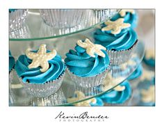 #beach #wedding #cupcakes