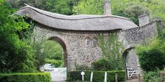 Worthy toll house road, Porlock, Somerset, England North Somerset, Somerset England, Exeter Devon, Toll House, Scotland, Pergola, Beautiful Places, Places To Visit, Around The Worlds