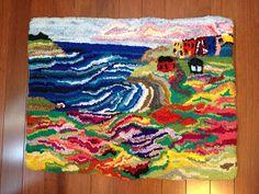 Atlantic Harbor Rug Hooked Rug - Wool