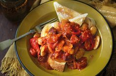 Butter bean, paprika and chorizo stew - Tesco Real Food