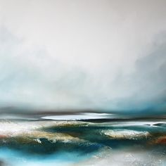 Fine artist Paul Bennett specialises in contemporary semi-abstract seascapes and landscapes, abstraction and also distinctive portraiture. Paul Bennett's works can be found in private and public collections around the world. Abstract Landscape Painting, Seascape Paintings, Nature Paintings, Landscape Paintings, Paul Bennett, Sea And Ocean, Home Art, Paper Art, Wall Art