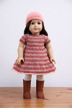 American Girl Doll Spring Stripes Outfit by StassyDodge on Etsy