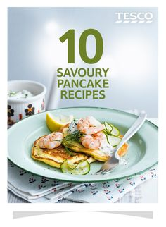 Try something different this Pancake Day with these scrumptious savoury pancake recipes. From wholemeal pancakes to vegetarian breakfast crêpes, we've picked out the best recipes for you to test out your flipping skills on. | Tesco