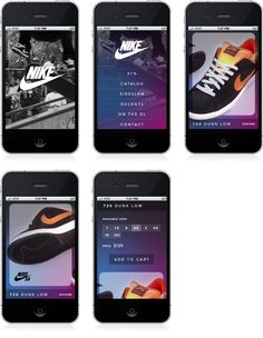 Nike 1%. More at http://www.brightbrightgreat.com/work    #blog #news #design #UI #UX #interface #webdesign #graphicdesign #branding #brandID #identity #nike #iphone #mobileweb