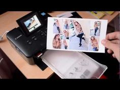 How I print square 4 x 4 photos on my Selphy CP 900 and a layout share - YouTube Pocket Scrapbooking, Photo Album Scrapbooking, Iphone Photo Printer, Canon Selphy, Photo Layouts, Photo Memories, Project Life, Happy Planner, Printing Photos