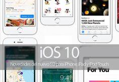 Apple presenta iOS 10 y estas son sus principales novedades