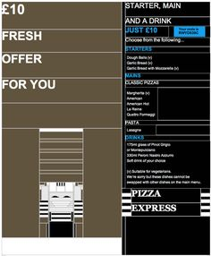 PizzaExpress Inspires with Images-Off Email Optimization! #email #emailmarketing #emaildesign