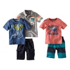 http://www.fairtradehearts.com/childrens-clothes.html Tea Collection Uluwatu Surf 5-Piece Set - $79.50  from: Tea Collection