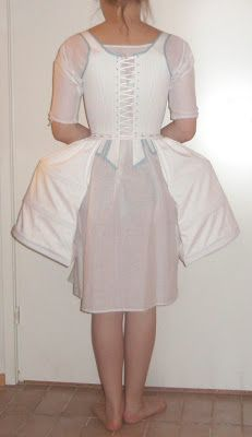 Pocket hoops and petticoats for 1760's and 1770's by Rococo atelier
