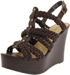Amazon.com: Madden Girl Women's Kashka Wedge Sandal: Shoes
