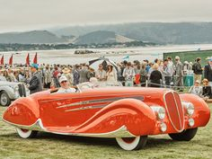 The annual Pebble Beach Concours d'Elegance is a fierce car competition, but…