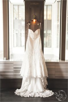 We love this wedding dress by our friends by @Winne Couture