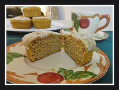 Ginny's Low Carb Kitchen: PUMPKIN MUFFINS, low carb, gluten free