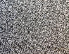 Nesvik. Lett og slitesterkt tekstil i ull. Et lite paisleymønster gir den et spesielt og unikt utrykk og den kan fint kombineres med Sjøvik. Design: Kristina D. Aas Menu, Tote Bag, Bags, Fashion, Menu Board Design, Handbags, Moda, Fashion Styles, Totes