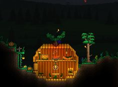 Since it's almost Halloween, here's my pumpkin house!