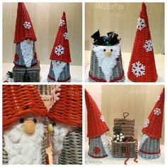 Newspaper Basket, Newspaper Crafts, Paper Weaving, Bbg, Bead Jewellery, Type 3, Advent, Christmas Stockings, Xmas