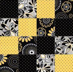 Mellow Yellow Patch Pre-Cut Quilt Kit Blocks